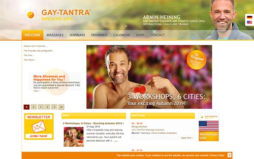 Website www.gay-tantra.eu