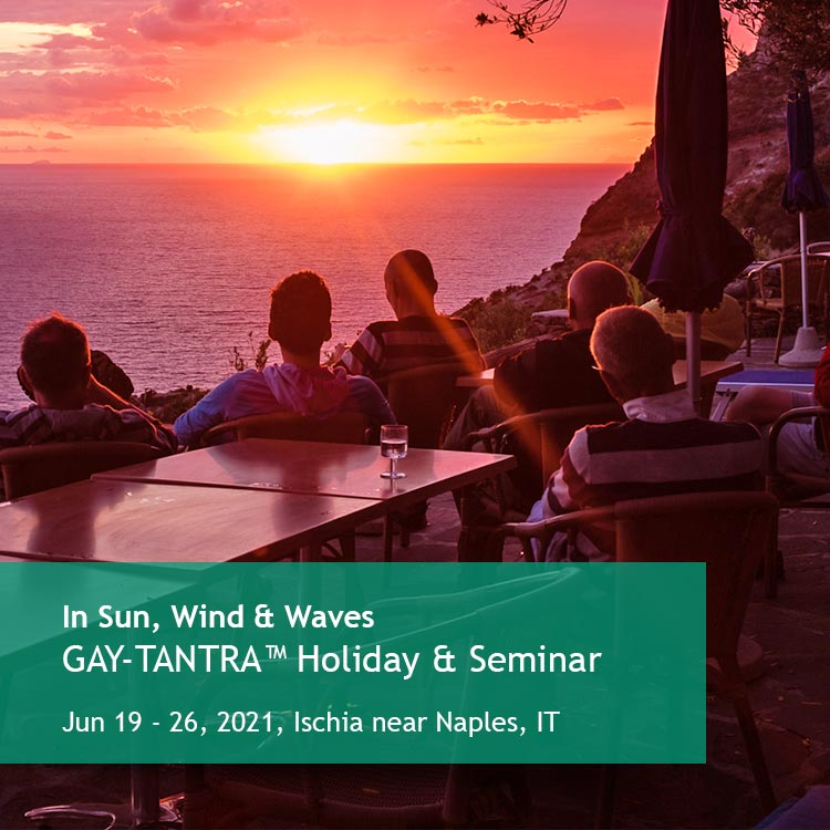 In Sun, Wind & Waves, Holiday & Seminar on Ischia, Italy