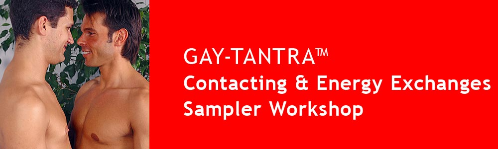 GAY-TANTRA Sampler Workshop Contacting and Energy Exchanges